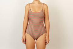 Frankie Full Piece - Opshop Stripe