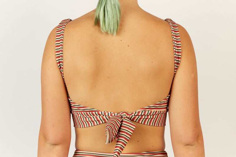 Madi Top - Opshop Stripe