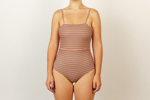 Molly Full Piece - Opshop Stripe