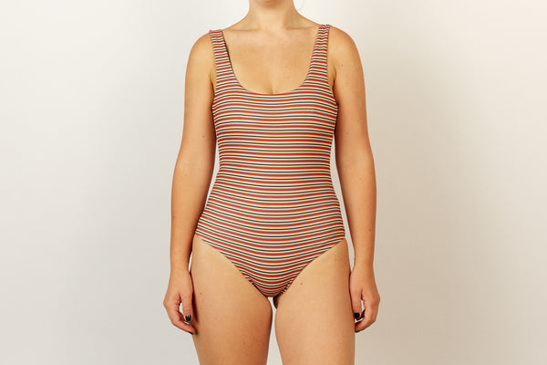 Ruby Full Piece - Opshop Stripe