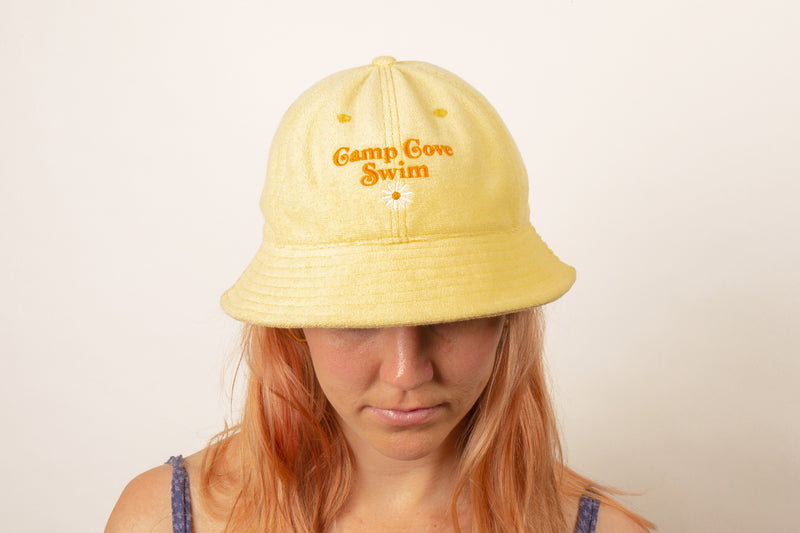 Lemon Terry Bucket Hat