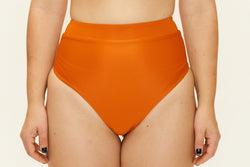 Cindy High Bottoms - Orange Rust