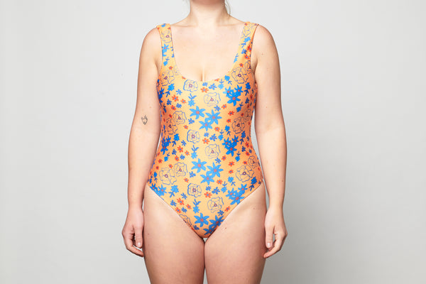 Roma Full Piece - Sunshine Floral