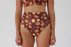 Cindy Bottoms - Chocolate Floral
