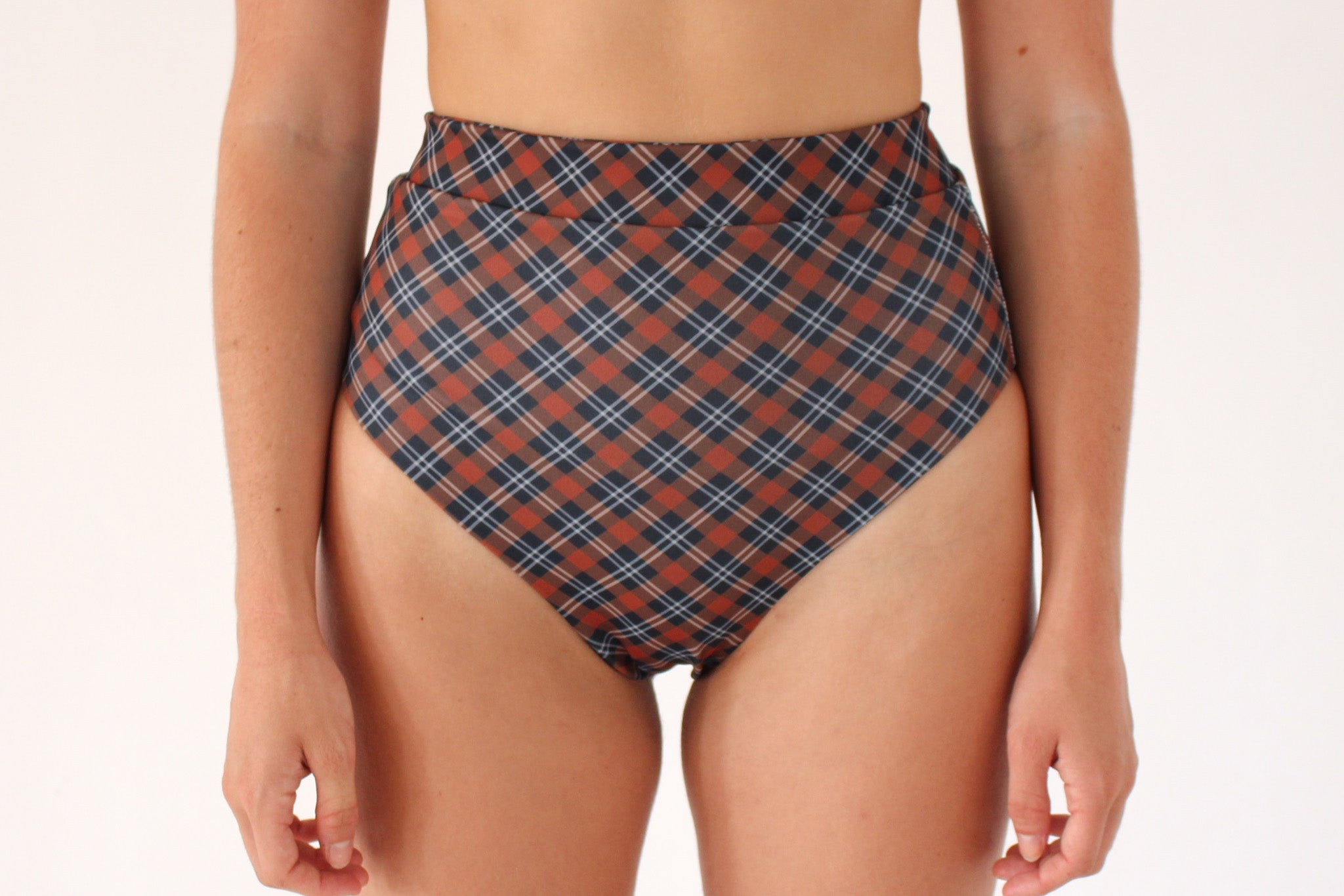 Cindy Bottoms - Dark Tartan
