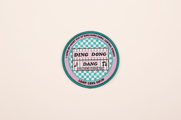 Ding Dong Dang - Sew on Patch