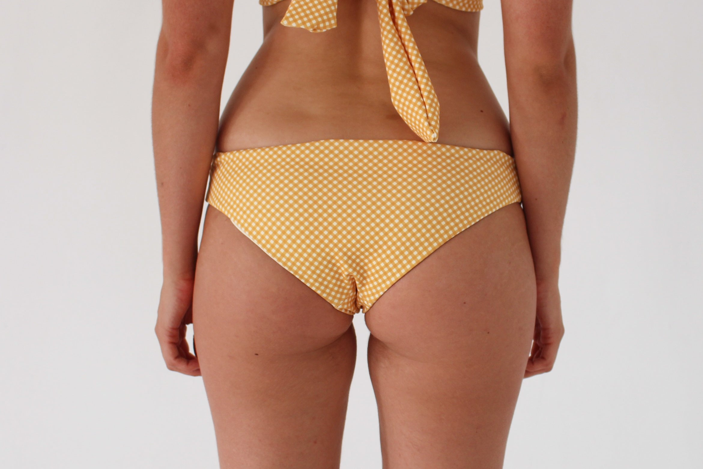 Jaki Bottom - Golden Yellow Check
