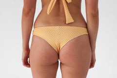 Nikki Bottom - Golden Yellow Check