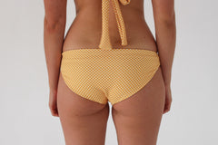 Opal Bottom - Golden Yellow Check