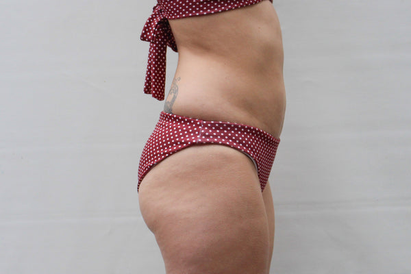 Opal Bottoms - Merlot Polka Dot
