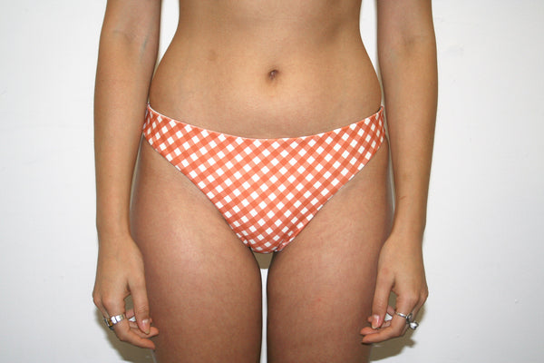 Arcadia Bottoms – Rust Gingham