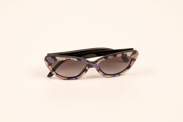 Patterned Cateye Sunnies