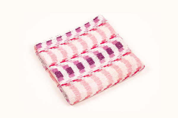 Pink & Purple Arch Towel