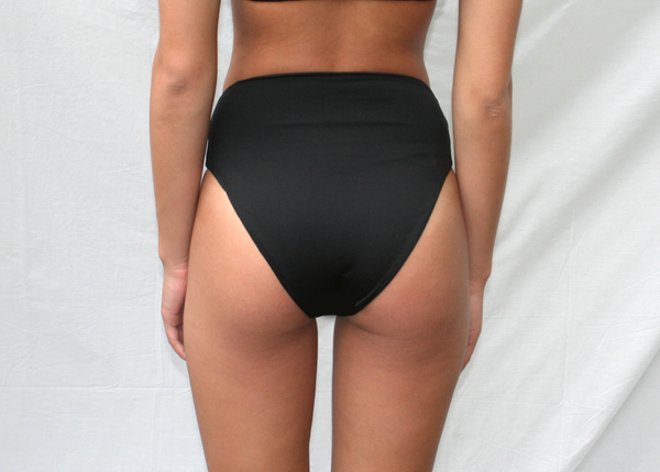 Bowie Bottom - Recycled Black