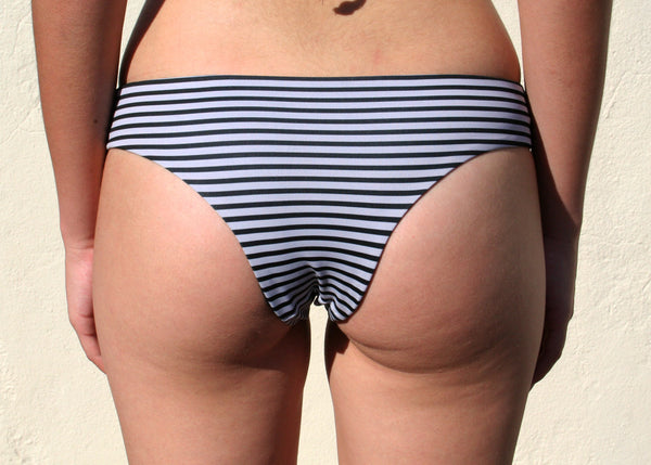 Heart Breaker Bottoms – Charcoal Stripe
