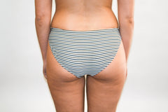 Opal Bottoms - Black and Olive Stripe