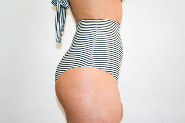 Katie Bottoms – Black and Brown Stripe