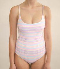 Frankie Full Piece - Rainbow Paddle Pop Stripe