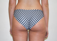 Opal Bottoms - Black Gingham