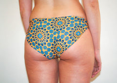 Opal Bottoms - Golden Yellow Hippie Floral
