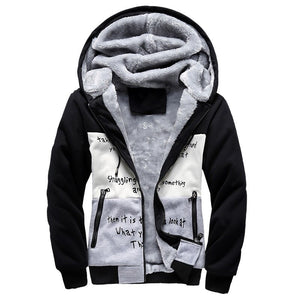 2019 Tracking Winter Hoodies Men Cotton Fashion Tracksuits With Zipper Long Sleeve Of Sportsuit Clothing Tracksuit