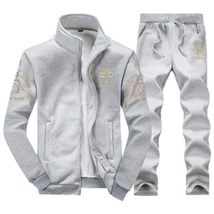Men Set Track Suit 2PC Sportsuit Sets Male Sweatshirts Clothing+Jogger Hoodies Moleton Masculino Coats 2019 Streetwear Tracksuit