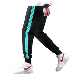 Streetwear Mens Sweatpants Cotton Hip Hop Pants Casual Tracksuit Slim Fit Sportswear Bottoms Spring Autumn Men's Trousers