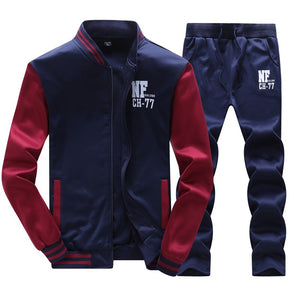 Tracksuit Men Set Winter 2PCS Collar Fleece Thicker Velvet Sportsuit Casual Mens Suits Sweatshirt Men Tracksuit Set Sweat 4XL