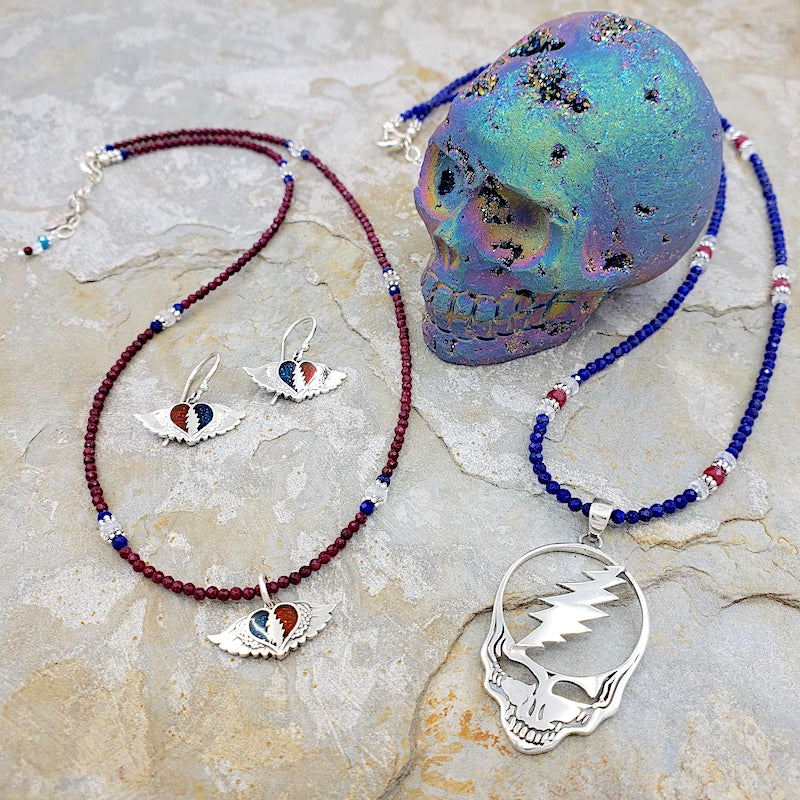 GRATEFULLY DEADICATED - GRATEFUL DEAD THEMED JEWELRY