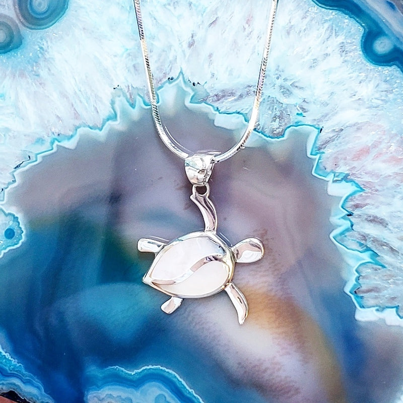 HANDMADE STERLING SILVER TURTLE THEMED JEWELRY