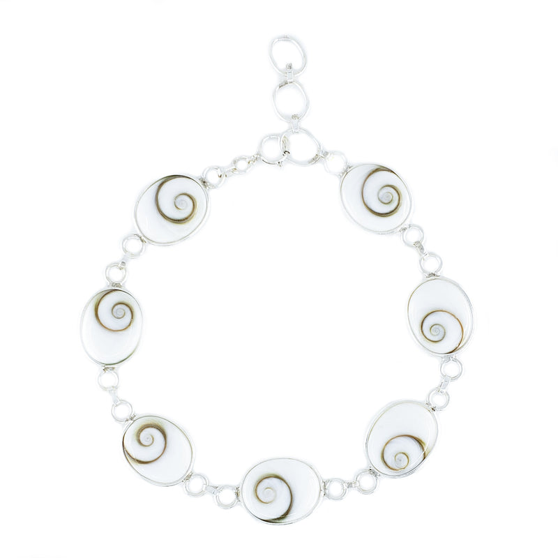 Cat's Eye Shell Bracelet