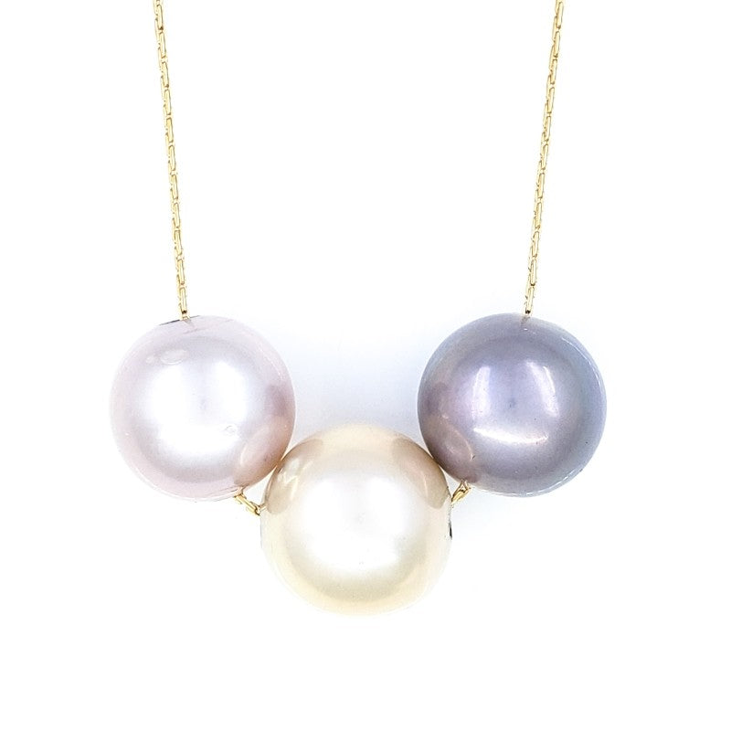 3 Edison Pearls Necklace