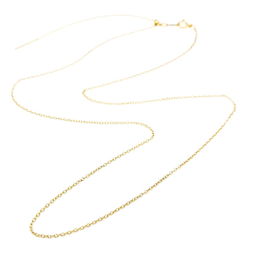 Adjustable Gold Cable Chain