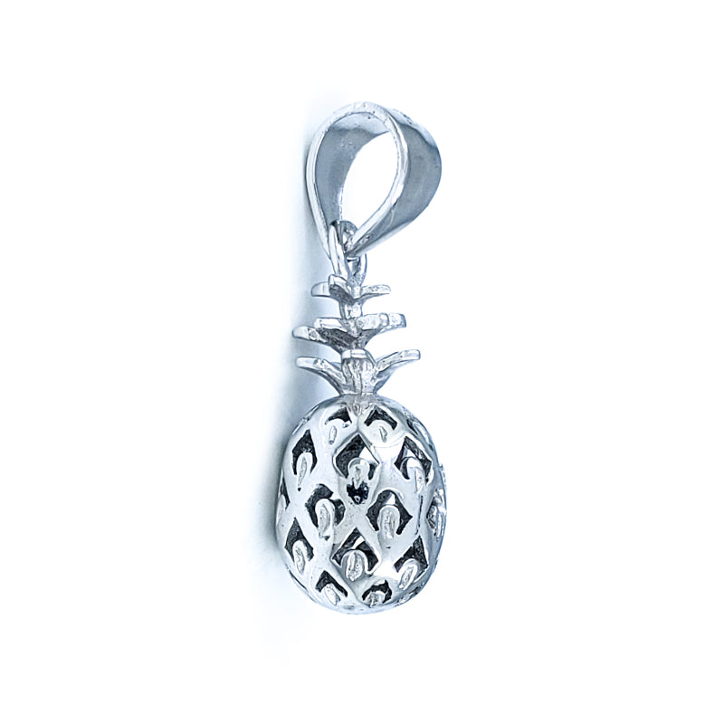 Small Sterling Silver Pineapple Pendant