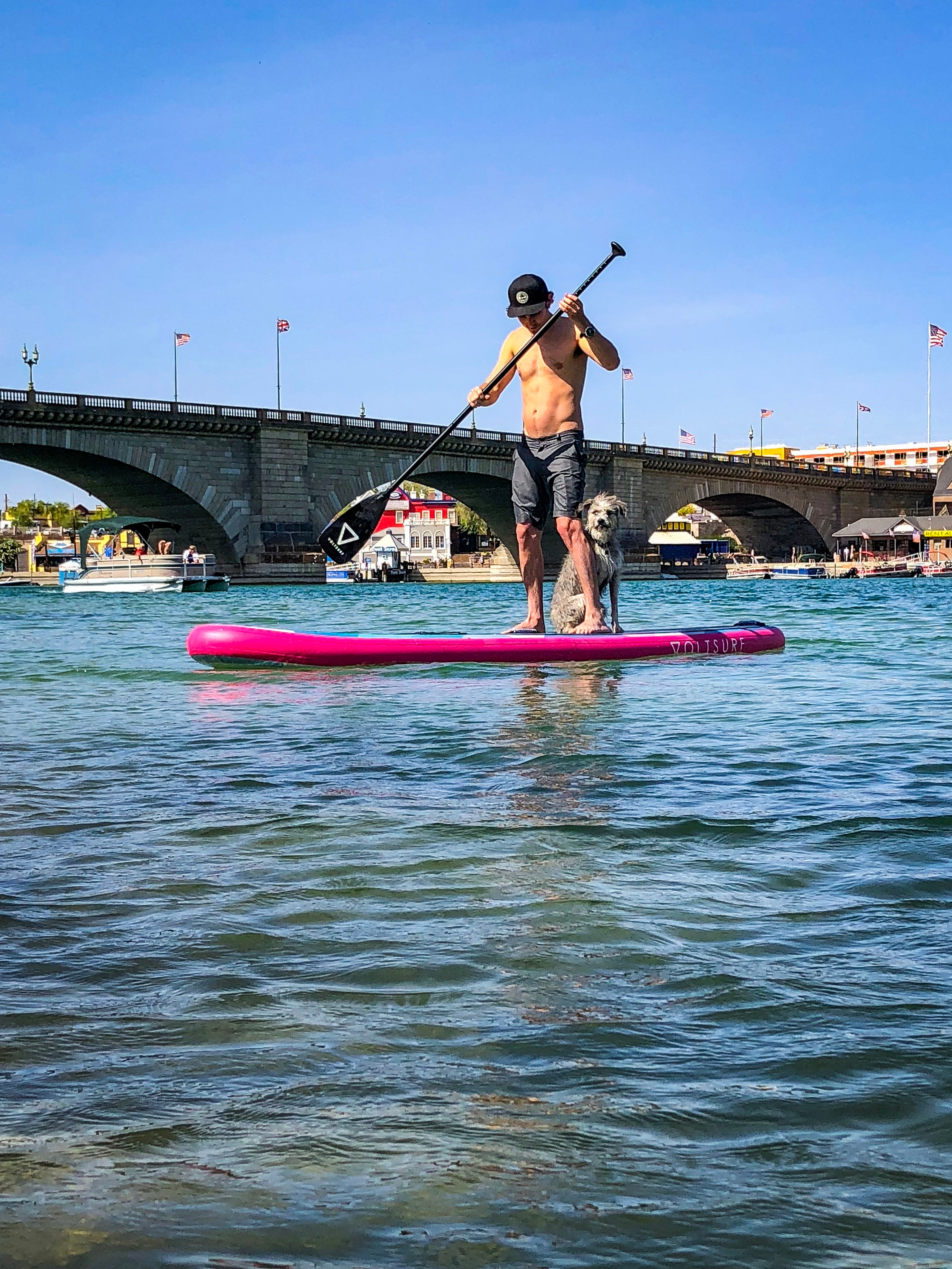 11'0 ROVER PINK INFLATABLE PADDLEBOARD - Canadian Board Company