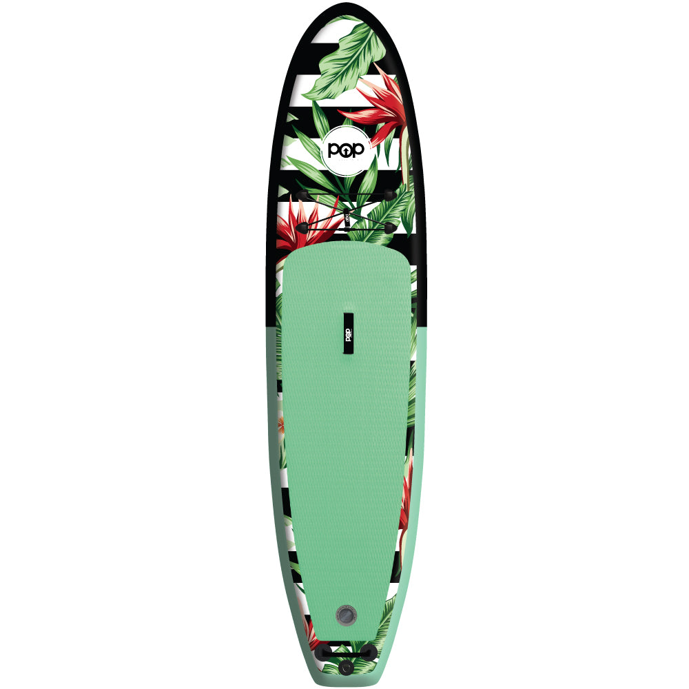 POP Board Co. - The Royal Hawaiian - Mint/Black - Canadian Board Company