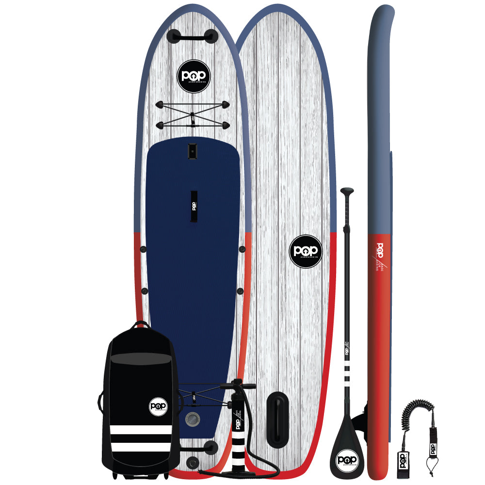 POP Board Co. - El Capitan – Blue/Red - Canadian Board Company