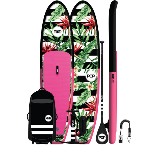 POP Board Co. - Royal Hawaiian Pink/Black - Canadian Board Company