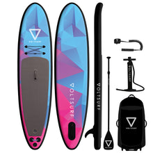 Load image into Gallery viewer, 11'0 ROVER BLACK INFLATABLE PADDLEBOARD