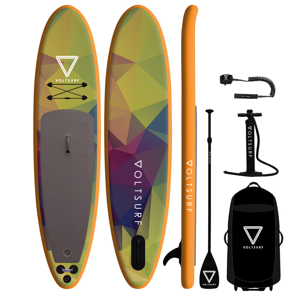 11'0 ROVER ORANGE INFLATABLE PADDLEBOARD