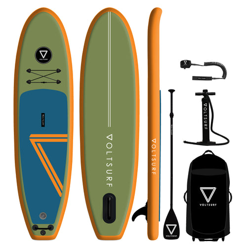 10' VOLTSURF Class Act - Orange Rail - Canadian Board Company