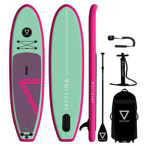 10' VOLTSURF Class Act - Pink Rail - Canadian Board Company