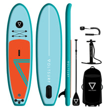 Load image into Gallery viewer, 10' VOLTSURF Class Act - Turquoise Rail - Canadian Board Company