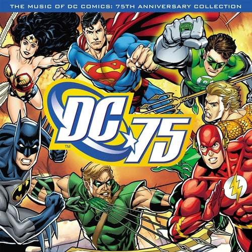Various Artists - The Music of DC Comics: 75th Anniversary Collection (Blue)