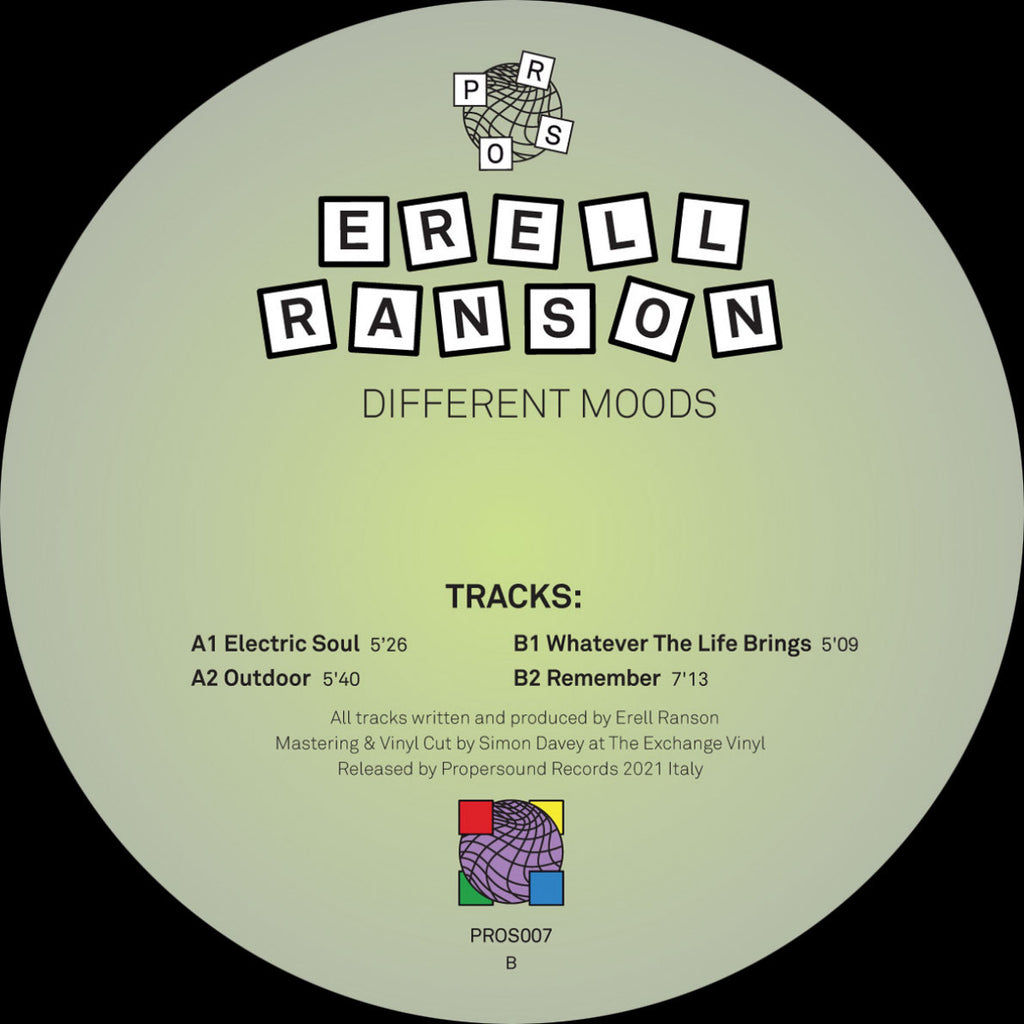 Erell Ranson - Different Moods
