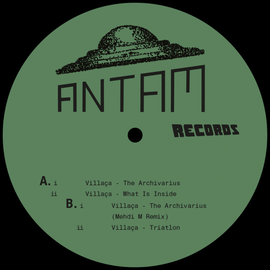 Villaça - The Archivarius EP (Incl. Mehdi M Remix)