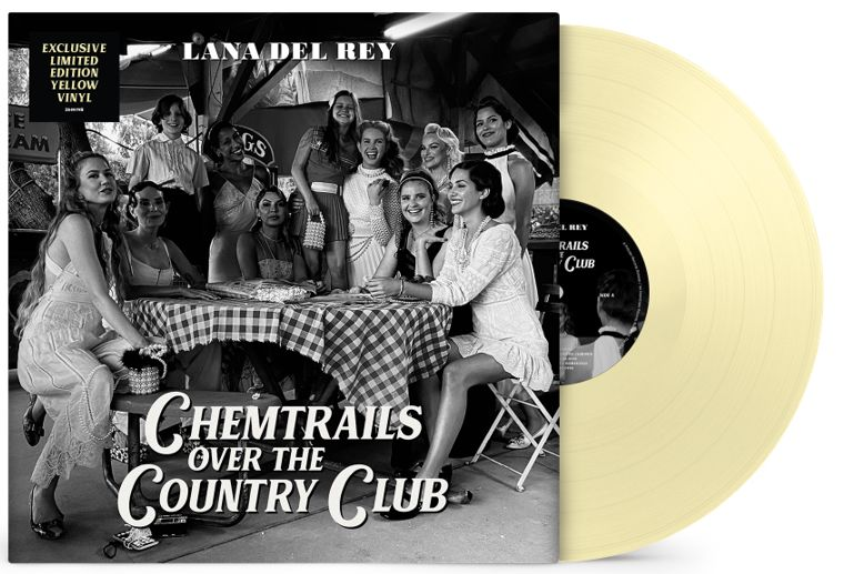 Lana Del Rey - Chemtrails Over The Country Club (Yellow)