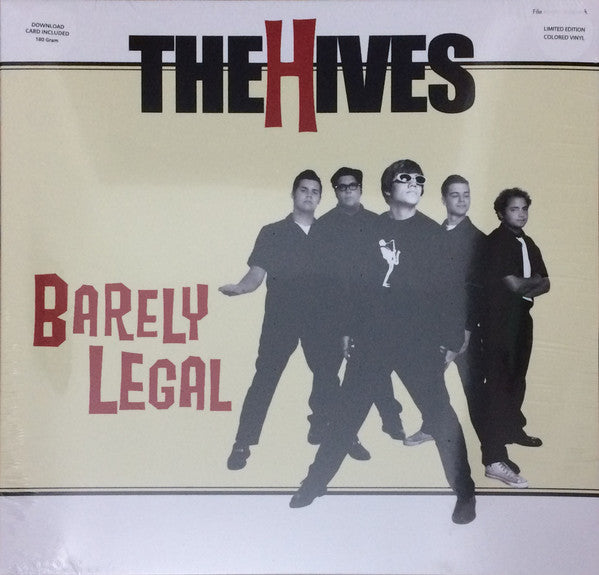 The Hives - Barely Legal (Coloured)