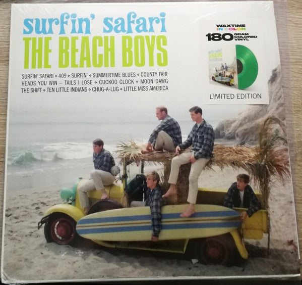 The Beach Boys - Surfin' Safari (Green)