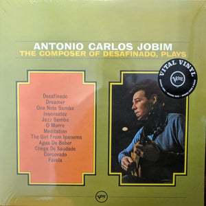 Antonio Carlos Jobim - The Composer of Desafinado Plays